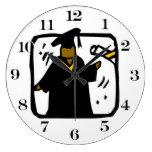 Diploma de recepción graduado (1) relojes de pared
