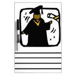 Diploma de recepción graduado (1) tablero blanco