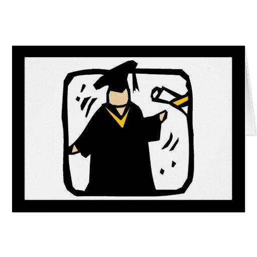 Diploma de recepción graduado (2) tarjeta