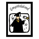 Diploma de recepción graduado (2) tarjeta postal