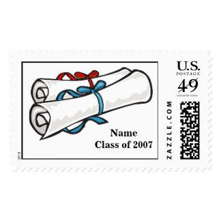 Diploma Postage Stamp