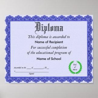 Diploma Poster