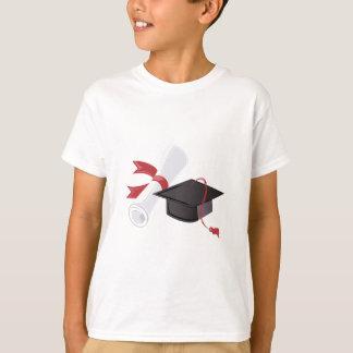Diploma y casquillo playera