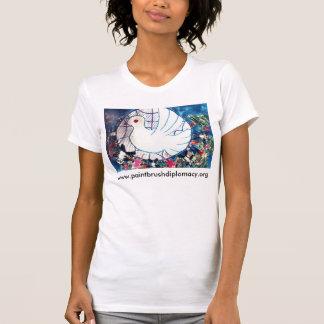 Diplomacia de la brocha camiseta