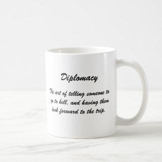 Diplomacia, el arte de decir alguien ir… taza de café