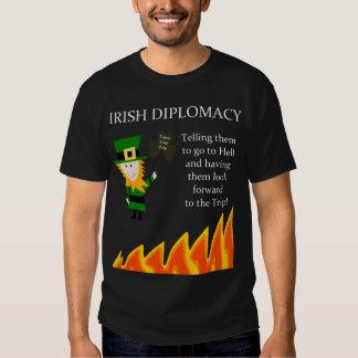 Diplomacia irlandesa camisas