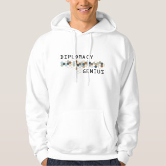 Diplomacy Genius Hooded Pullover