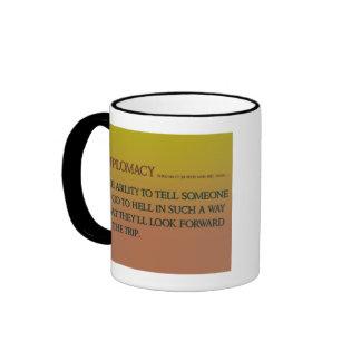 Diplomacy Ringer Coffee Mug