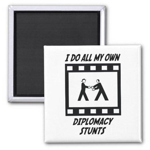 Diplomacy Stunts Fridge Magnets