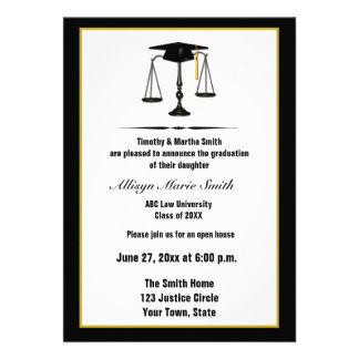 Diplomado de colegio de abogados Annoucement Invitaciones Personales