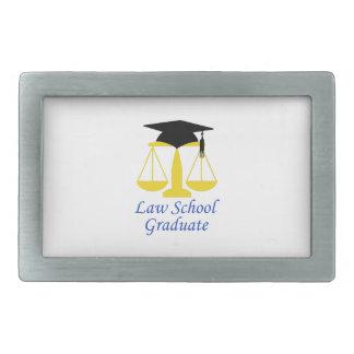 Diplomado de colegio de abogados hebilla de cinturon rectangular