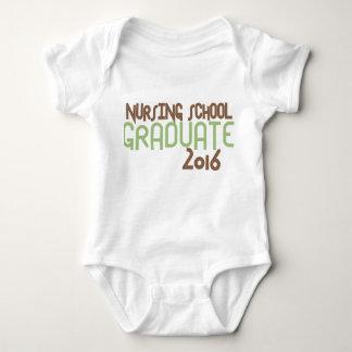Diplomado de escuela de enfermería enrrollado 2016 body para bebé