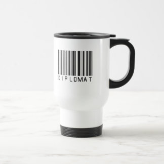 Diplomat Bar Code Travel Mug