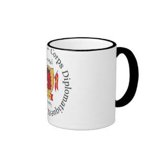 Diplomat cup ringer coffee mug
