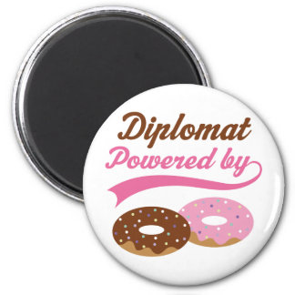 Diplomat Funny Gift Refrigerator Magnets