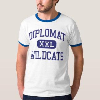 Diplomat Wildcats Middle Cape Coral Florida T-Shirt