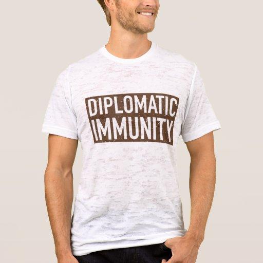 Diplomatic Immunity Tee Zazzle