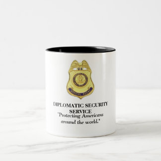 Diplomatic Security Service - Protecting Americans Two-Tone Coffee Mug