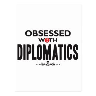 Diplomatics obsesionó postal