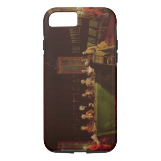 Diplomats Meeting (oil on canvas) iPhone 8/7 Case
