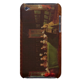 Diplomats Meeting (oil on canvas) iPod Touch Case