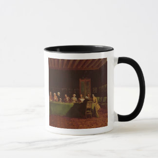 Diplomats Meeting (oil on canvas) Mug