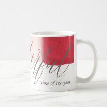 Dipped Stipes Coffee Mug
