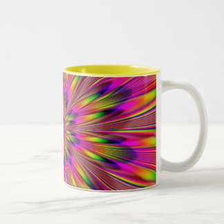 Dippy Hippy Two-Tone Coffee Mug