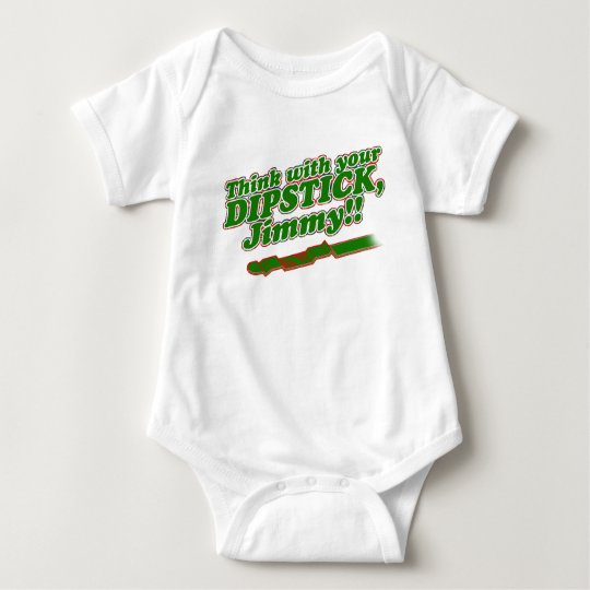 Dipstick Baby Bodysuit