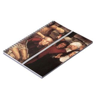 Díptica de Hans Memling- con la deposición Libros De Apuntes Con Espiral