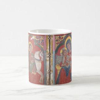 Diptych Icon with Saint George Coffee Mug