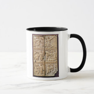Diptych showing the Miracles of Christ Mug