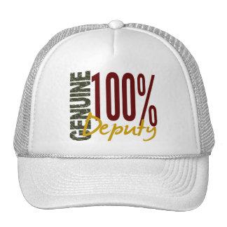 Diputado auténtico gorras de camionero