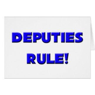 ¡Diputados Rule! Tarjeta De Felicitación