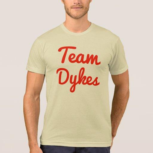 Diques del equipo camisetas