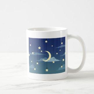 Dire Moon and Stars Coffee Mug