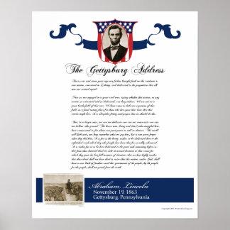 Dirección de Gettysburg Posters