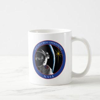 Dirección de las operaciones del equipo de vuelo tazas de café