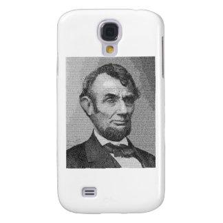 Dirección de presidente Lincoln Render w/the Getty Funda Para Galaxy S4
