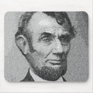 Dirección de presidente Lincoln Render w/the Getty Mouse Pads