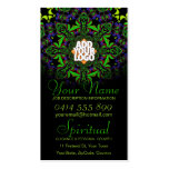 Dirección espiritual con la tarjeta de visita del