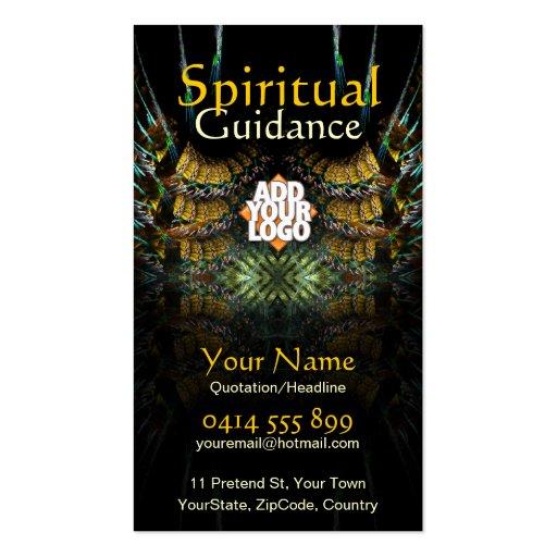 Dirección espiritual de la cosecha del otoño tarjetas de visita