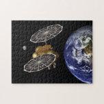 Dirección hacia Marte en arte Puzzle