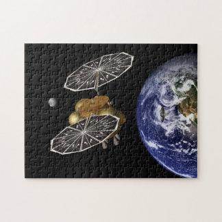 Dirección hacia Marte en arte Puzzle Con Fotos
