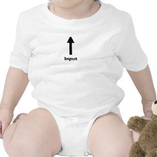 Direcciones para los nuevos padres camiseta