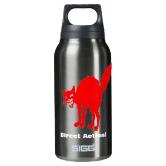 direct action! 10 oz insulated SIGG thermos water bottle