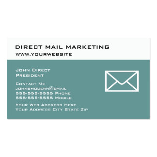 Direct Mail Marketing Business Cards