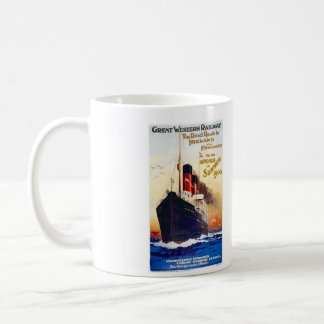 Direct route to Irland Classic White Coffee Mug