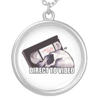 Direct To Video Round Pendant Necklace