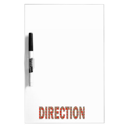 DIRECTION : Guide Coach Mentor Master Teacher GIFT Dry-Erase Boards